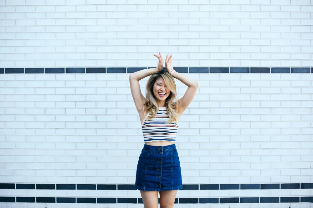 striped-top-denim-shorts-lemonade-ally-chen-fashionbyally-5568