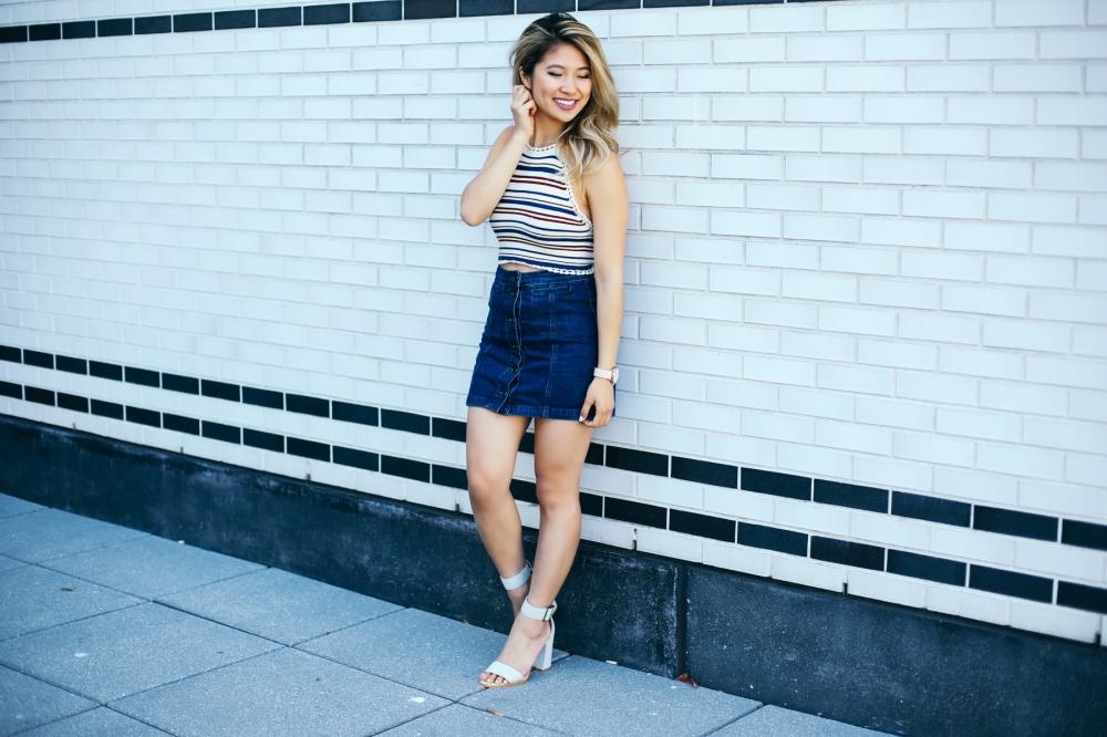 striped-top-denim-shorts-lemonade-ally-chen-fashionbyally-5653